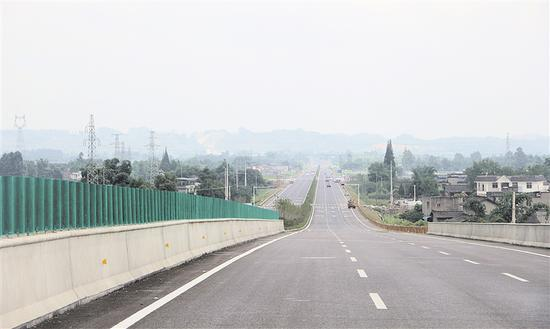 乐山全力推进三年交通攻坚大会战 构建十纵八横三环线