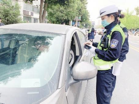 """遂寧市城區3月共查處""""車不讓人""""行為2123起"""