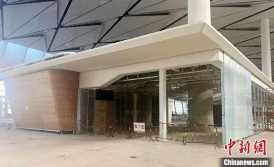 航站楼内的商业服务区。成都住建提供