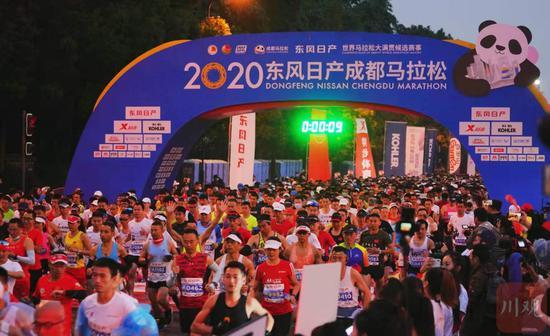 成都马拉松初冬激情开跑 2020-11-30再相约
