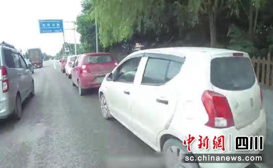 """自贡:五人违法驾驶无牌""""老年车""""组团自驾游被查"""