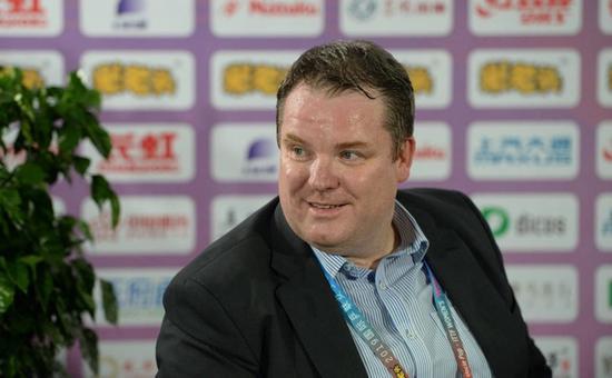 国际乒联CEO史蒂夫:未来计划在成都举办更多高水平乒乓球赛事