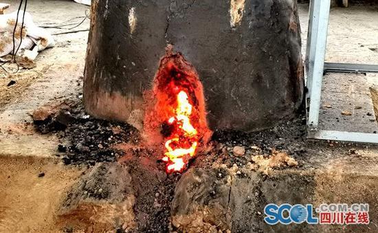 邛窑考古遗址公园展开冶铁实验考古 看两千年前古人如何炼铁
