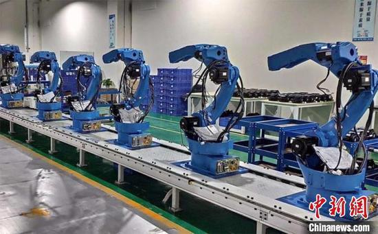 成都:2023年底 智能制造裝備產業規模力爭突破500億元