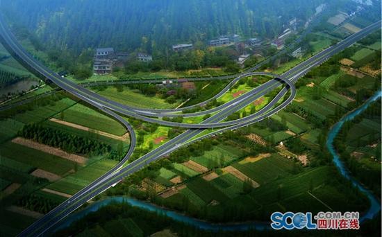 德会高速开建 凉山深贫区新增一条纵向高速