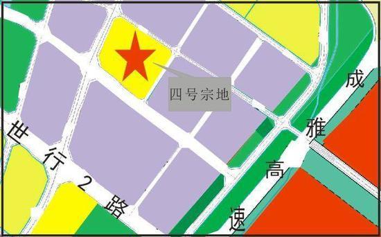 3840元/㎡!成都市新津区岷江新城拍出一宗优质住宅用地