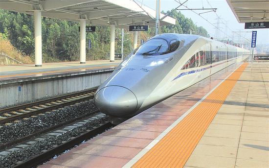 40年 樂山鐵路:從零的突破到跑步前行