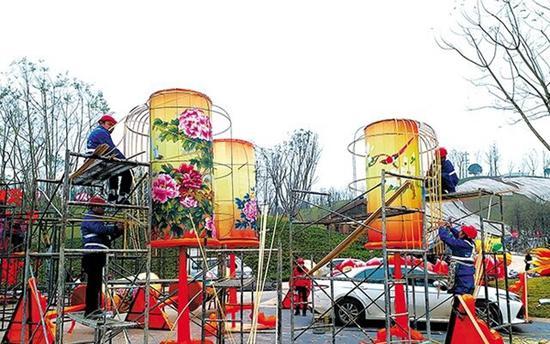 自贡鼠年灯会将于明年1月中旬开幕