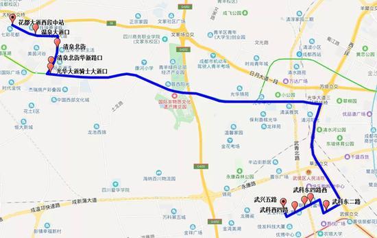 4月7日起成都再开4条网约公交线路 这些区域通勤更方便