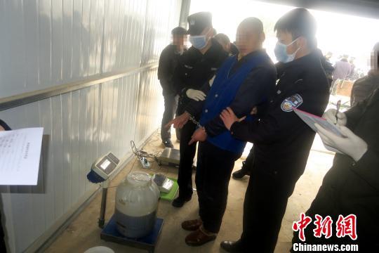 陕西史上最大制造毒品案告破。陕西省公安厅