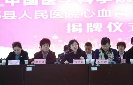 县委常委、宣传部长刘卫颖讲话