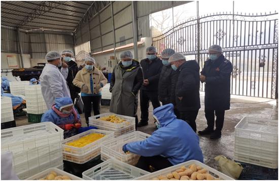 德昌县开展农特产品流通领域调研
