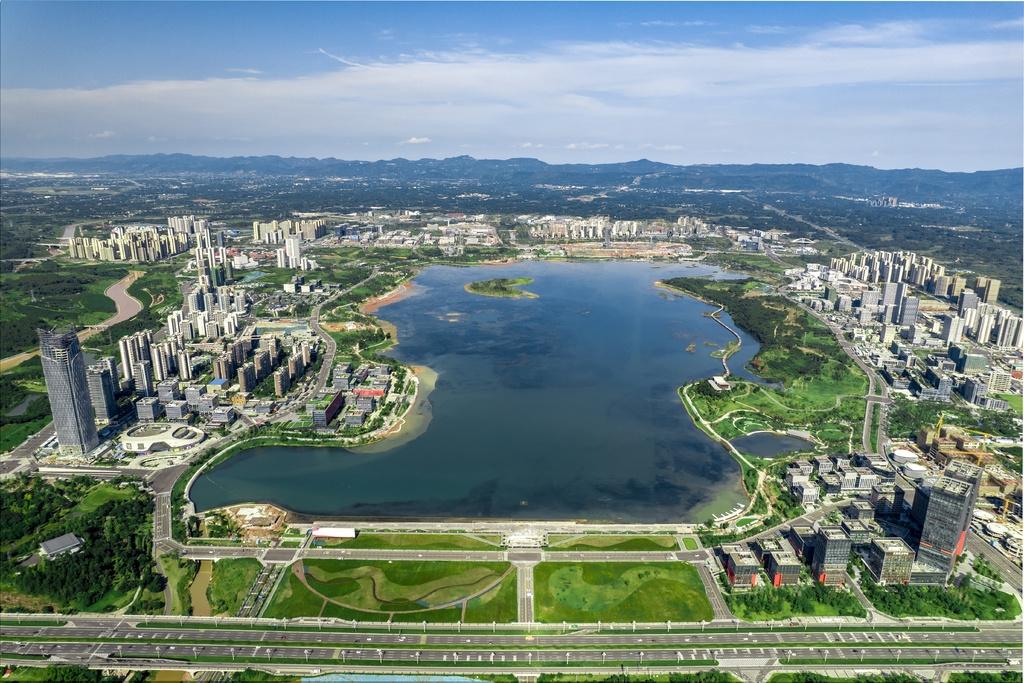 """兴隆湖蓄水 公园城市多个场景""""上新"""""""