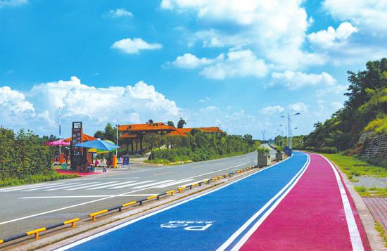 彭州葛仙山绿道。