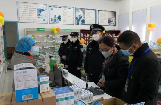 多部门联合对药店开展专项检查