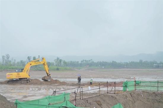河东开展年二季度重大项目拉练