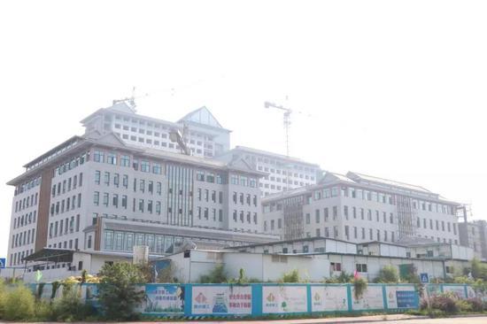 泸州市中医医院工程进度图