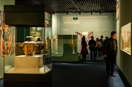 四川博物院展览