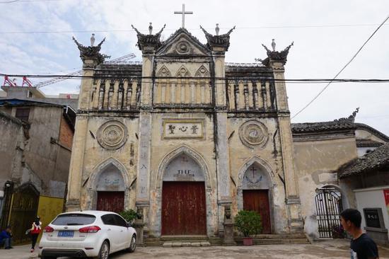 德昌:天主教堂——圣心堂