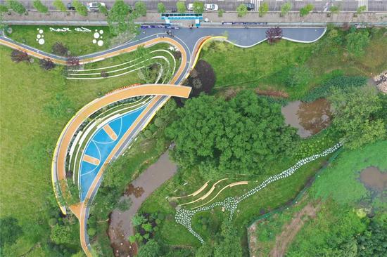 金强篮球公园(鸟瞰图)
