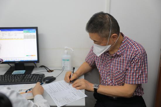重组带状疱疹疫苗在重庆市第五人民医院进行首针接种