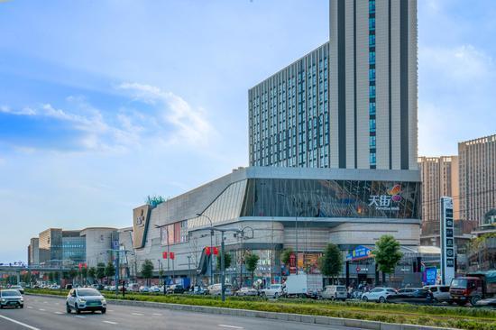 龍湖成都時代天街2期外觀