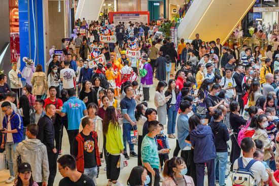龍湖成都時代天街2期開業人潮涌動