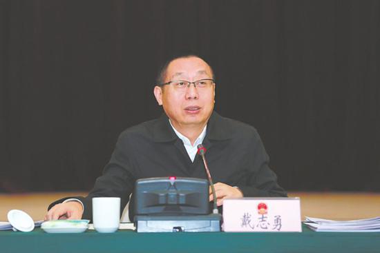 成都市人大代表、青羊区委书记戴志勇。