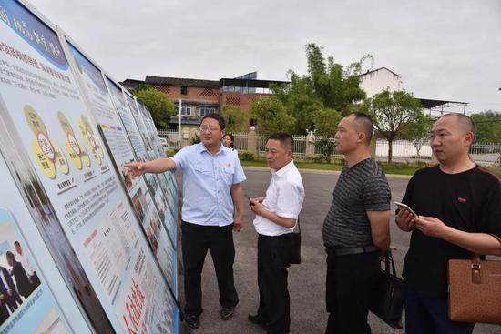 南江县和雅安市考察团到射洪法院考察交流诉源治理等工作