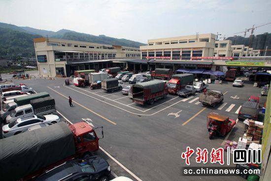 川西国际农博城一角 王磊 摄