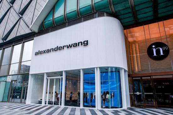 alexanderwang西南首店开幕 银泰in99扩展名品布局
