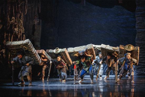 雅安本土原创民族舞剧 《川藏·茶马古道》亮相北京国家大剧院