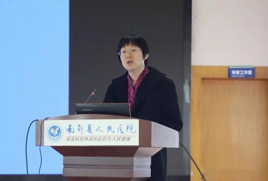 中国医学科学院阜外医院专家谭晓燕授课