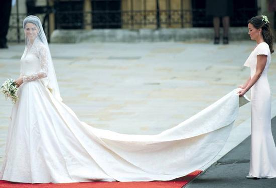 凯特王妃婚纱