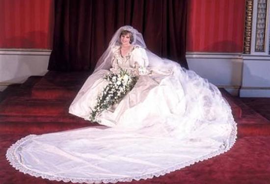 戴安娜婚纱