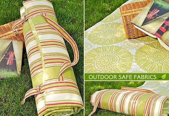 便携式野餐垫 图片来源自Paula Brown
