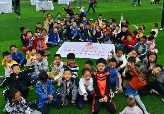 四川大学西航港实验小学志愿者服务活动日:魅力航空 童心飞扬