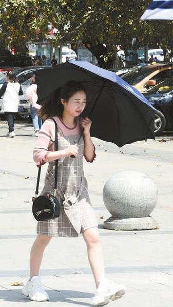 昨日雨过天晴,阳光明媚 记者 张瀚誉 摄