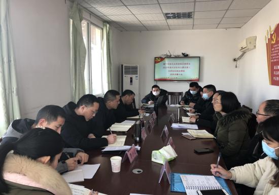 遂宁国家农业科技园区管委会召开2020年度内设机构主要负责人述责述廉大会