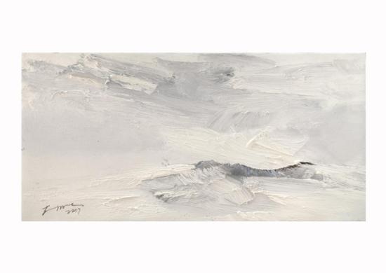 封明清 《巴古拉多》2 布面油画 20×40cm 售价:2800元