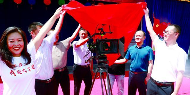 蓬溪融媒体首部微电影拍摄开机