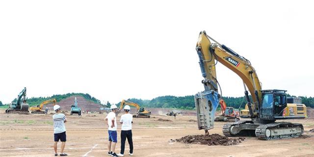 王力西部产业园建设加快推进