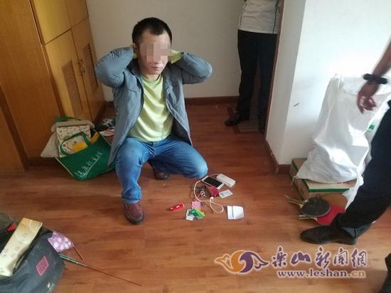 犯罪思疑人刘某被抓获