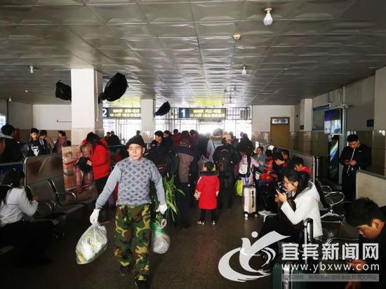 宜宾火车站即将迎来春运。(宜宾新闻网 曾江 摄)