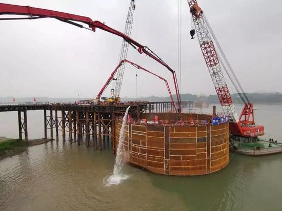 泸州长六桥工程进度图