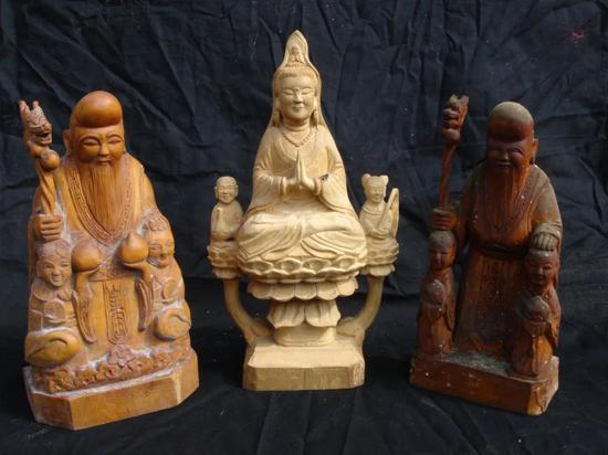 涂建平木雕作品选