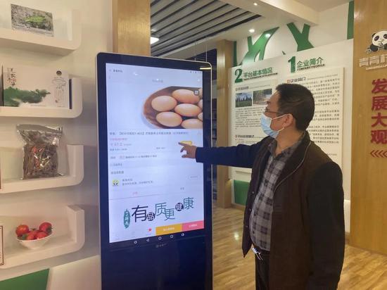 青青村社服务中心党支部 支部书记王兴林