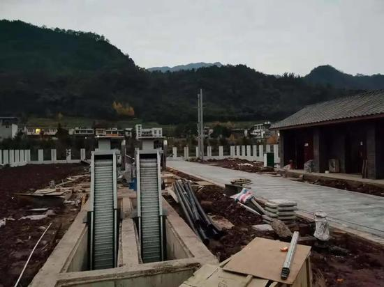 八步镇污水处理站建设