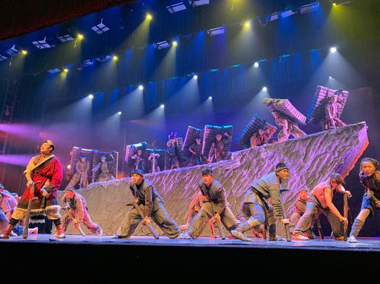 民族舞剧《川藏·茶马古道》在雅安上演