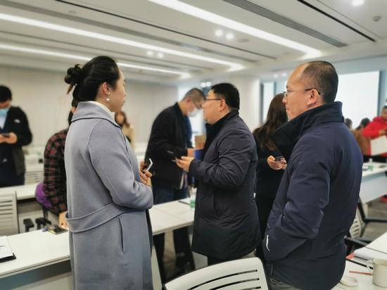 成都交子公园商圈政策解读会暨企业沙龙座谈会举行